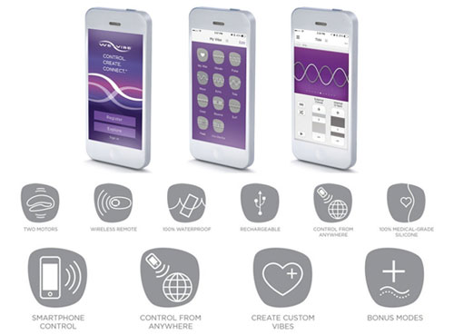 We Vibe 4 Plus - App